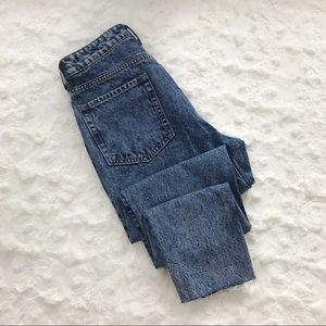 DIVIDED High Waist Acid Wash Booty Fit Jeans